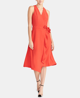 Etta Side Tie Trench Dress, Created For Macy's by General