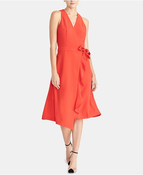 RACHEL Rachel Roy Etta Side-Tie Trench Dress, Created for Macy's