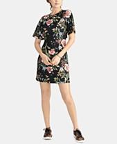 c237b66e8c40 RACHEL Rachel Roy Janie Printed Peekaboo-Back Mini Dress