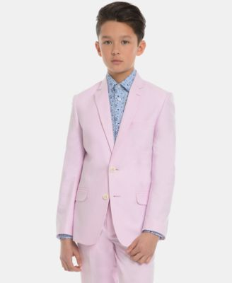 Big Boys Oxford Cotton Suit Jacket