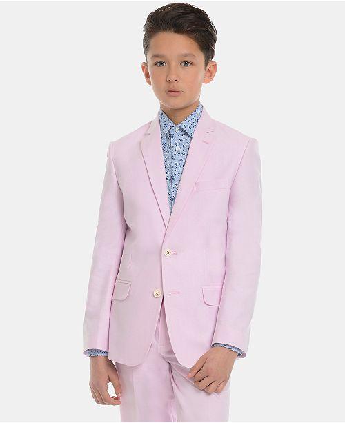 Tommy Hilfiger Big Boys Oxford Cotton Suit Jacket