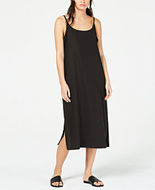 Eileen Fisher Slip Dress, Regular & Petite