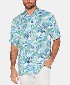 Cubavera Men's Regular-Fit Tropical-Print Shirt