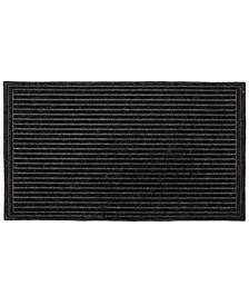 """Doormat Textured Stripe 24"""" x 36"""", Shoe Scraper Doormat, Durable"""