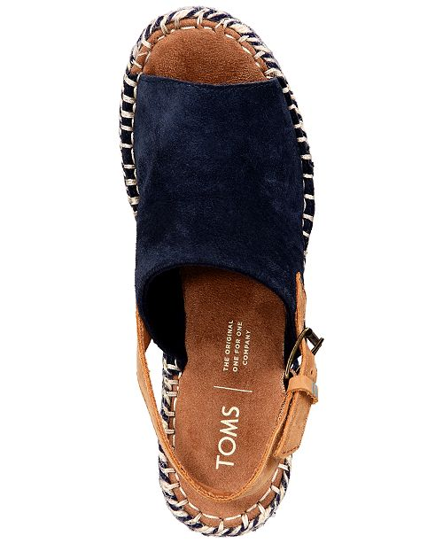 988494a770025 TOMS Monica Slingback Espadrille Wedges & Reviews - Wedges - Shoes ...