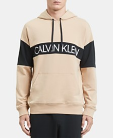 Calvin Klein Statement 1981 Men's Colorblocked Logo Hoodie