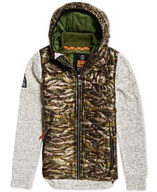 Superdry Men's Storm Wave Quilted Hooded Jacket