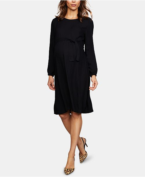 Isabella Oliver Maternity Tie-Front Dress