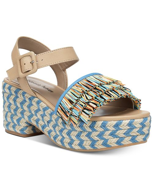 8aebe13fe30 Donald Pliner Donald J Pliner Lyna Wedge Sandals   Reviews - Sandals ...