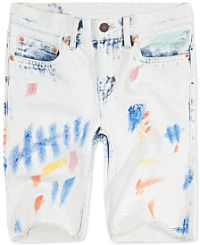 Levi's® Little Boys 511 Distressed Slim Denim Shorts