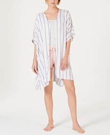 Jenni Light Weight Printed Short-Sleeve Wrap, Created for Macy's