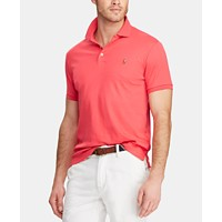 Deals on Polo Ralph Lauren Men's Custom Slim Fit Soft Touch Cotton Polo