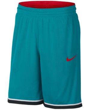 Nike Men's Dri-Fit Classic Basketball Shorts In Teal