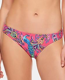 Vera Bradley Paisley Swirl & Aviary Ella Reversible Bikini Bottom