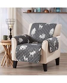 Sofa Saver Lodge Printed Reversible Chair Furniture Protector