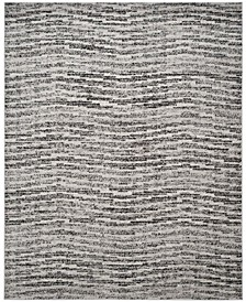 Adirondack Black and Silver 9' x 12' Area Rug
