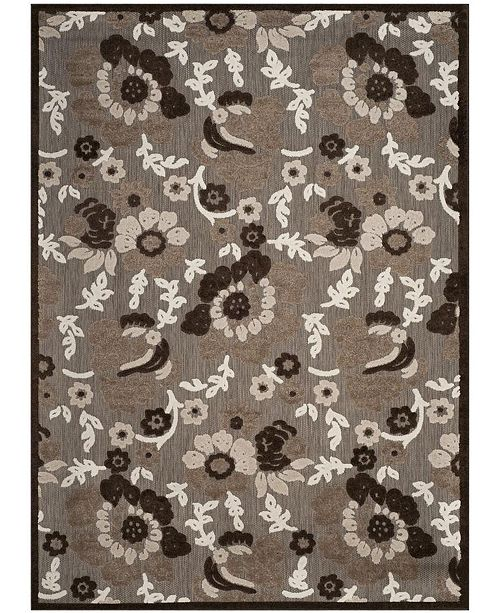 Safavieh Cottage Light Brown and Brown 9' x 12' Area Rug