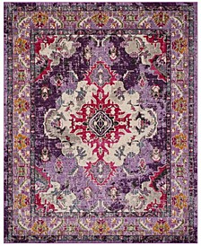 Monaco Violet and Fuchsia 9' x 12' Area Rug