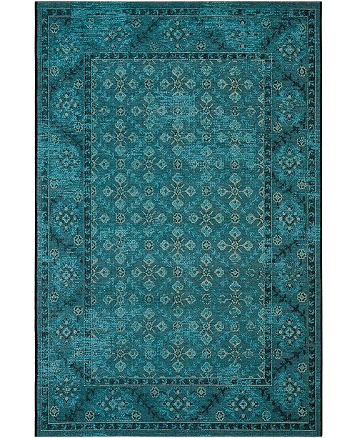 Safavieh Palazzo Turquoise and Cream 5' x 8' Area Rug