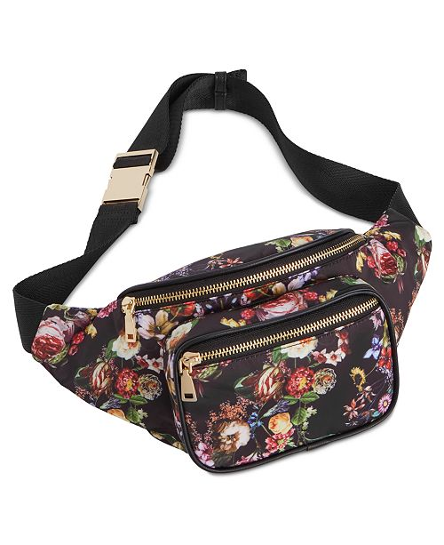 INC International Concepts I.N.C. Alisa Nylon Fanny Pack, Created for Macy's
