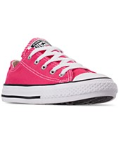 437e70999d3a Converse Little Girls  Chuck Taylor All Star Ox Casual Sneakers from Finish  Line