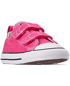 Converse Toddler Girls' Chuck Taylor All Star 2V Casual Sneakers from Finish Line