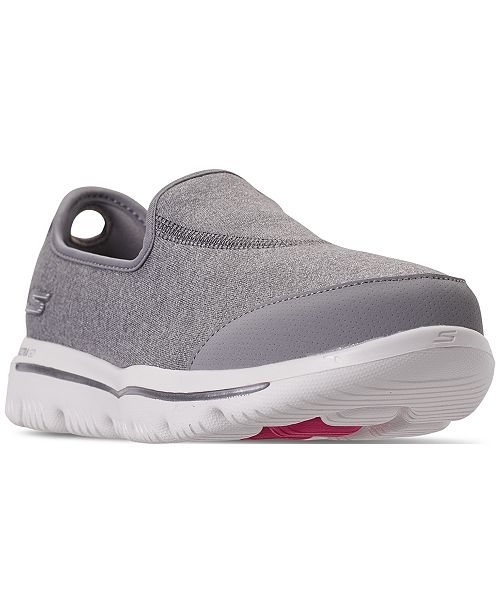 5da335e586a8c ... Skechers Women s GOwalk Evolution Ultra - Legacy Slip-On Walking  Sneakers from Finish ...
