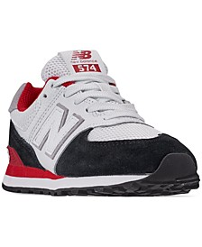 Boys' 574 Casual Sneakers from Finish Line
