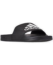adidas Men's Adilette Shower Slide Sandals from Finish Line