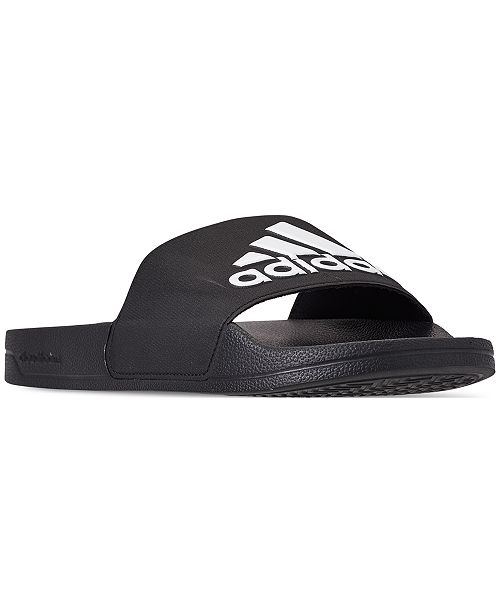 d105b5347 adidas Men s Adilette Shower Slide Sandals from Finish Line ...