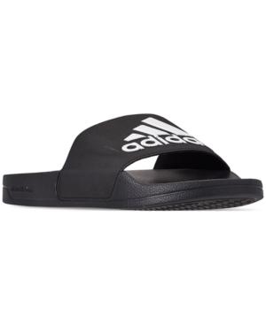 dab4c14da Adidas Originals Adidas Men S Adilette Shower Slide Sandals From Finish  Line In Core Black Ftwr