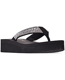 Women's Cali Vinyasa Flip-Flop Thong Sandals from Finish Line