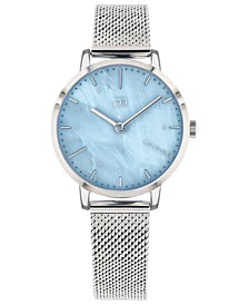 Women's  Stainless Steel Mesh Bracelet Watch 30mm  Created For Macy's