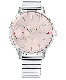 Tommy Hilfiger Women's  Stainless Steel Bracelet Watch 38mm Created for Macy's