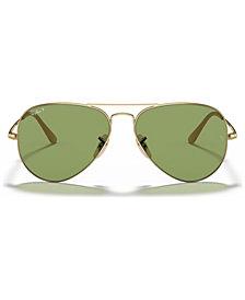 Ray-Ban Polarized Sunglasses, RB3689 58