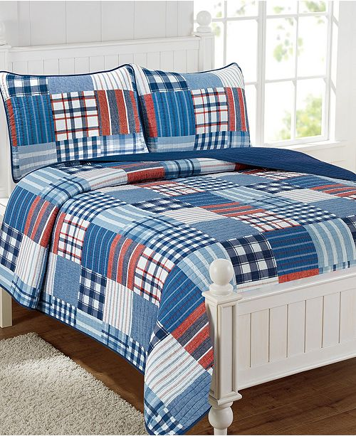 Mytex Hudson 3-Pc. Full/Queen Quilt Set