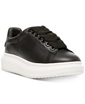 3275e983706 STEVEN by Steve Madden Women s Glazed Lace-Up Chunky Sneakers