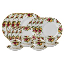 Royal Albert Old Country Roses 20-Piece Dinnerware Set
