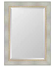 "White Catalina Framed Mirror - 32"" x 44"" x 2"""