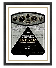 "Jaeger Framed Giclee Wall Art - 33"" x 43"" x 2"""