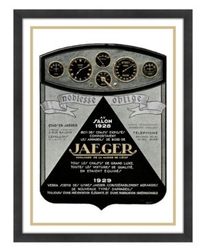 Jaeger Framed Giclee Wall Art - 33