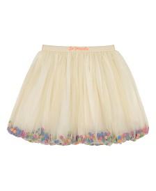 Masala Baby Girls Pom Pom Party Skirt