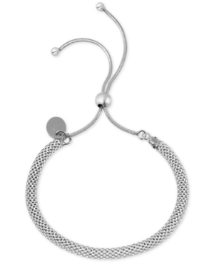 Mesh Chain Bolo Bracelet