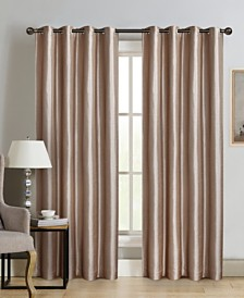 "Sun+Block Blackout Curtain Panel Pair 52""x84"""