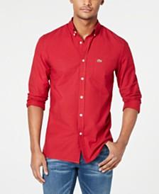 Lacoste Men's Gingham Oxford Shirt