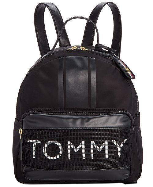 Tommy Hilfiger Julia Nylon Mesh Backpack