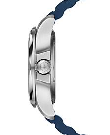 Men's I.N.O.X. Blue Rubber Strap Watch 43mm 241688.1