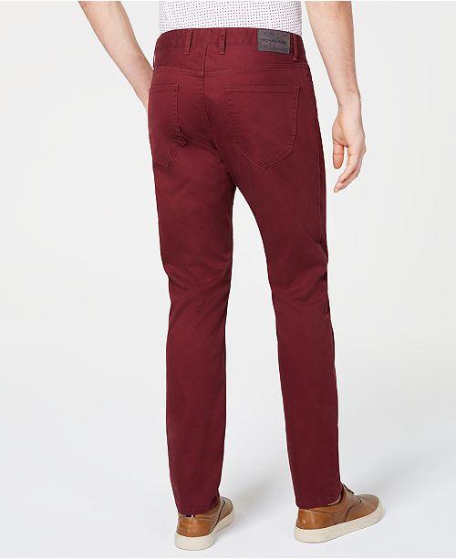 46039465994b1f Michael Kors Men's Parker Slim-Fit Stretch Pants & Reviews - Pants ...
