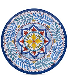 Certified International Capri Isle Melamine Dinner Plate