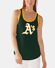G-III Sports Women's Oakland Athletics Clubhouse Tank